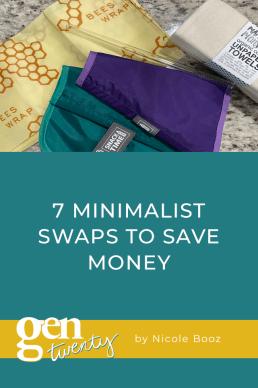 7 Minimalist Swaps to Save Money