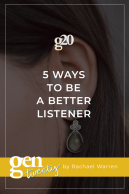 5 Ways To Be A Better Listener