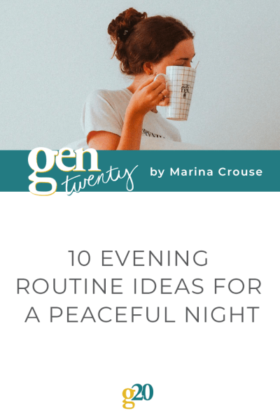 10 Evening Routine Ideas for a Peaceful Night