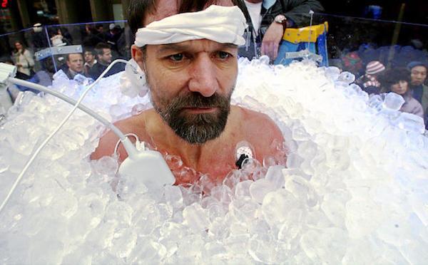 """Mit Schnee und Eis für Körper und Geist - Wim Hofs """"Iceman""""-Methode"""