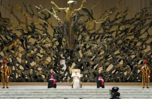 pope's demonic throne