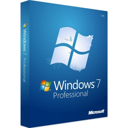 Windows 7 Pro Retail KEY 32+64 BIT