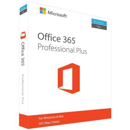 Microsoft Office 365 Pro Plus for PC/Mac/Android Lifetime Account