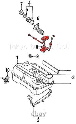 Mazda Rx7 Fuel Level Sender Unit Gauge Fc02-60-960 New