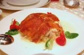 三十年陳皮雞 Shredded Chicken with Crispy Skin and Pomelo in Honey Flavoured with Lime Sauce
