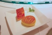Petit Fours - Osmanthus Jelly, Almond Biscuit