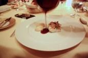 Wild turbot, marrow, St-Estephe wine Sauce
