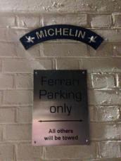 Amusing Sign Outside the Restaurant