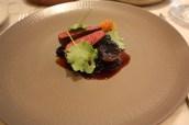 Roe deer, beetroot, cabbage & blackberries