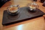 Parmesan Custard, 'Umami' Jelly, Chia Seeds