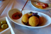 Our famous Iberico ham croquettes, thyme-tomato sauce