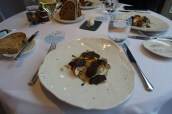 Warm Pheasant's Egg, Celeriac, Arbois, Dried Ham and Truffle