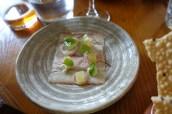 Smoked Eel with Apple and Horseradish