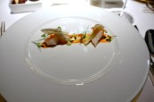 Black Cod, Pointed Pepper and Passion Fruit