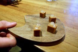 'The Crossover' - Miso fudge, yuzu caramel