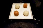 Petit Fours - Passion fruit & coffee bon bon, White chocolate & coconu