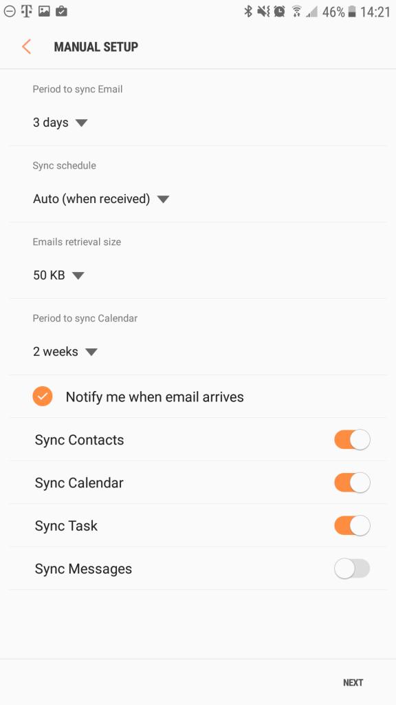 Configurar correo Exchange en Android de manera segura
