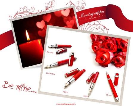 Montegrappa auf Facebook zum Valentinstag