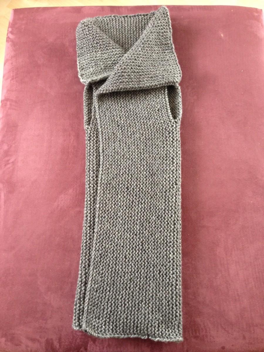 Crafting eine moderne weste stricken genussgeeks for Moderne schals stricken