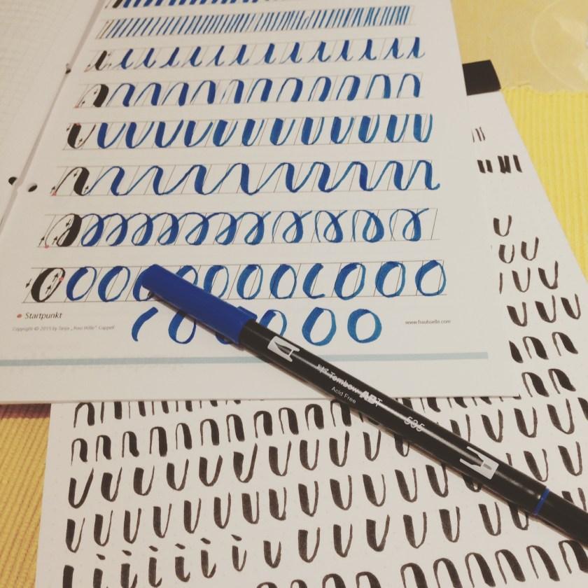 brush lettering #letterattack
