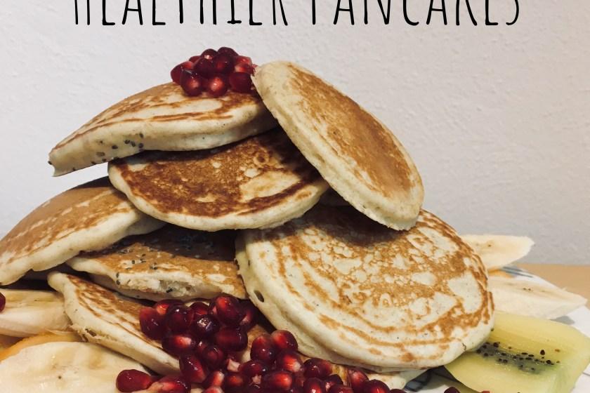 Genussgeeks healthier gesunde Pancakes