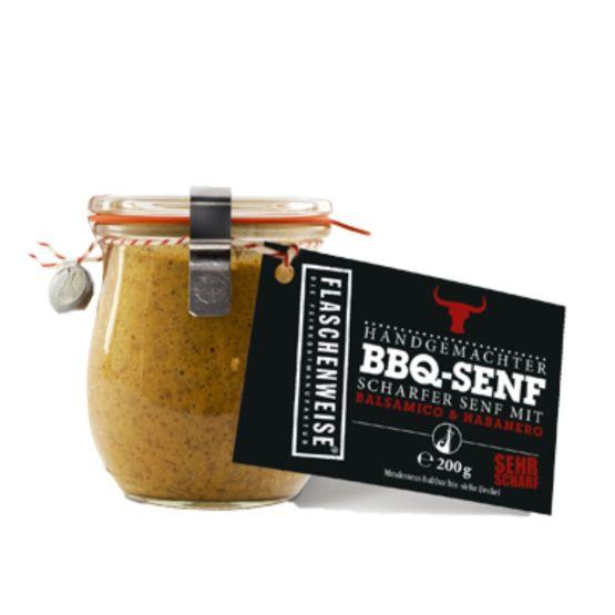 Genusswerk Flaschenweise BBQ Senf