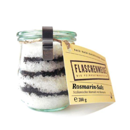 Genusswerk Flaschenweise Rosmarin Salz