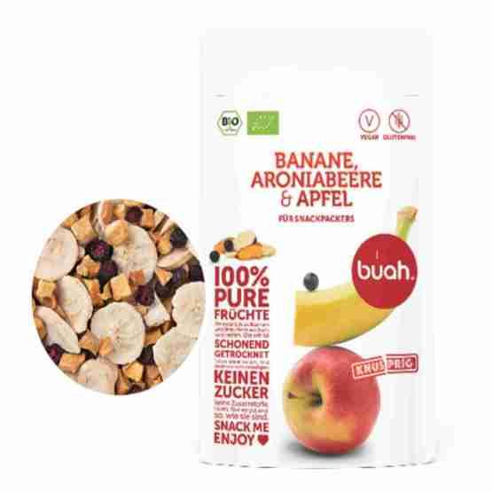 Genusswerk Buah Banane Aroniabeere & Apfel