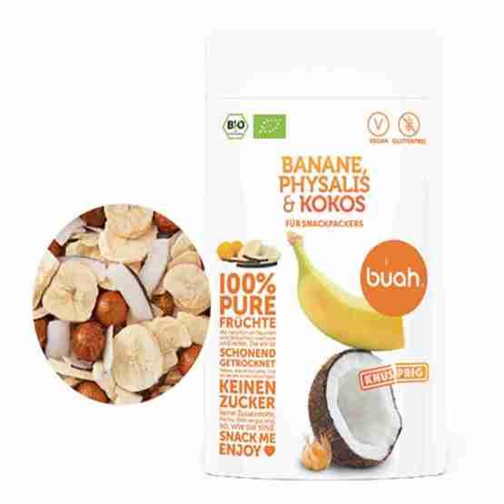Genusswerk Buah Banane Physalis & Kokos