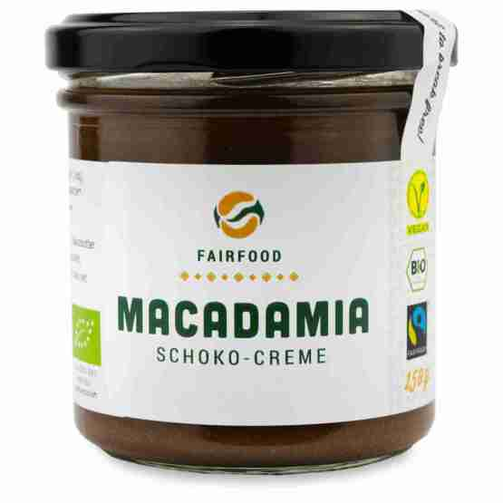 Genusswerk Fairfood Macadamia Schoko Creme