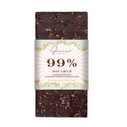 genusswerk 99% Zartbitter Gmeiner Schokolade