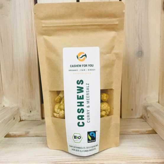 genusswerk Cashew curry & Meersalz Fairfood