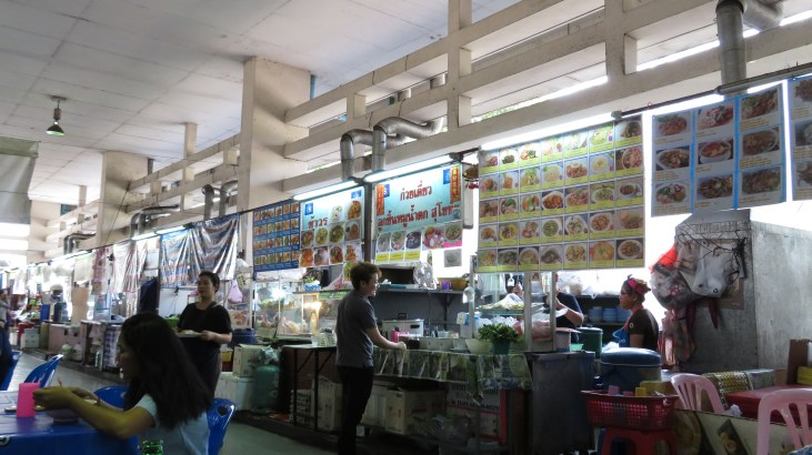 Food court behind Centrepoint Silom/Robinsons - great food and minimal price