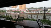 Brewerkz - best place to be in a rainstorm