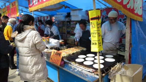 Love those okonomiyaki pancakes