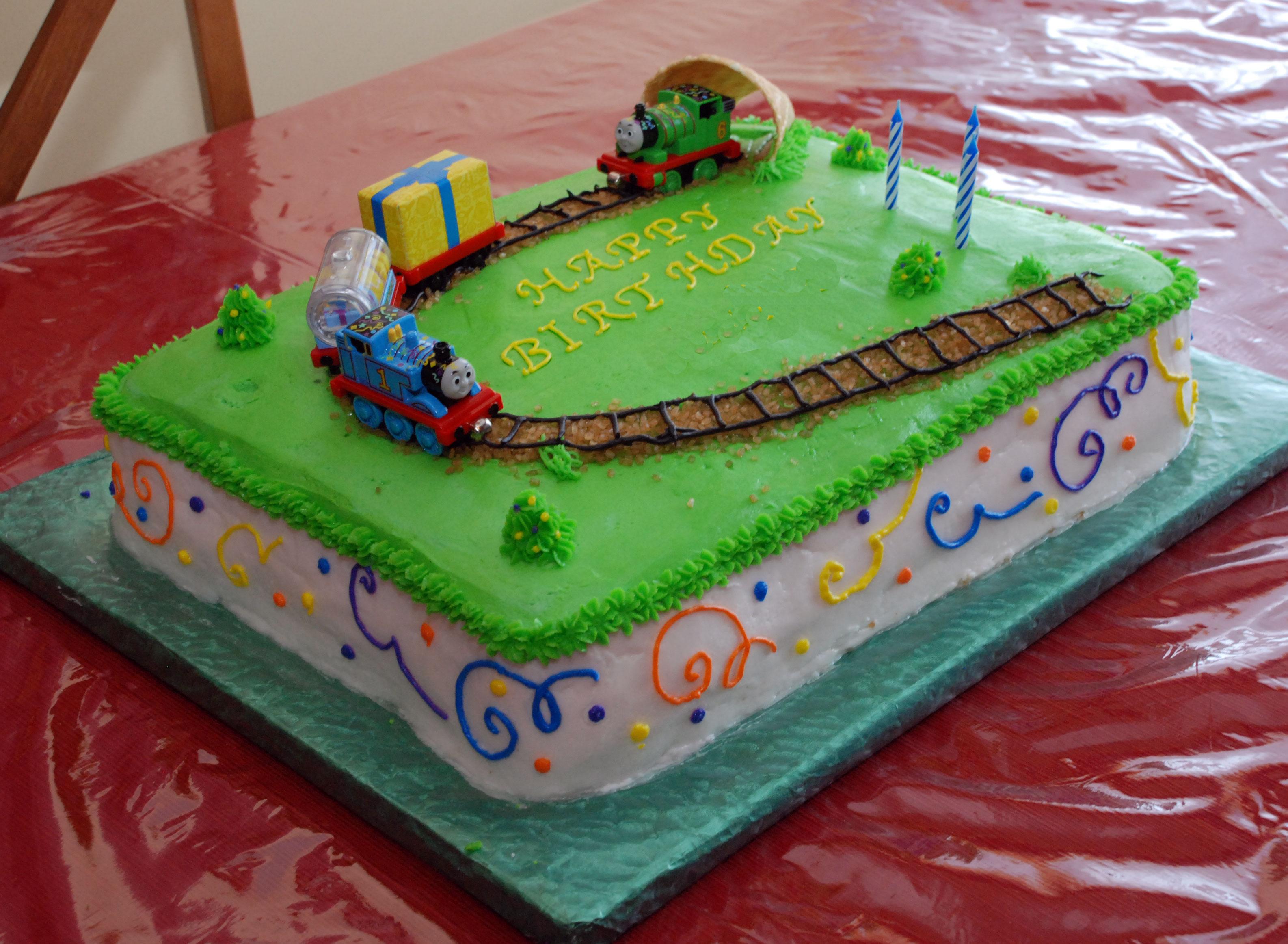 Train Cake Ideas Birthday Party