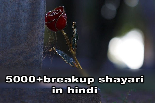 breakup shayari,