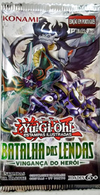 Booster – Yu Gi Oh – Batalha das Lendas – Vingança do Heroi – YGO