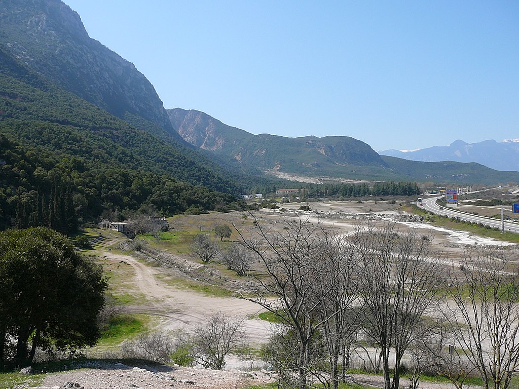 Photo of Location of the Battle of Thermopylae