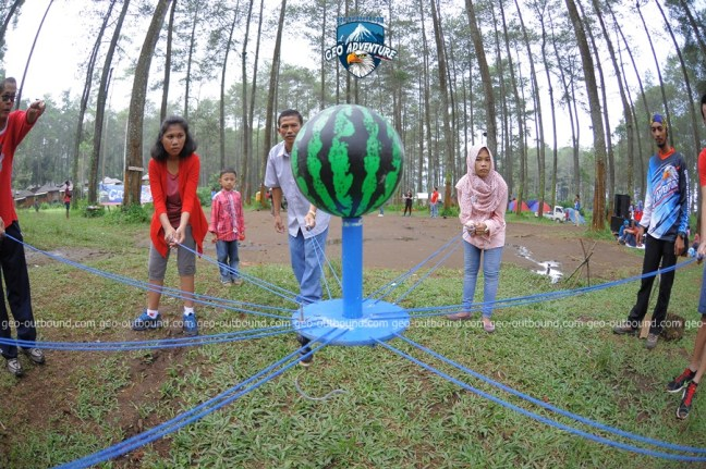 FUN TEAM BUILDING OUTBOUND TELKOM INDONESIA