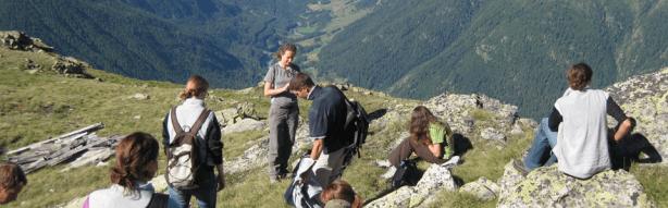 GIS-Arbeit im Feld