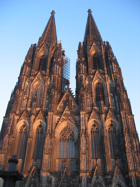 The front of Koln Kathedrale MGRS 32ULB5645  Geograph