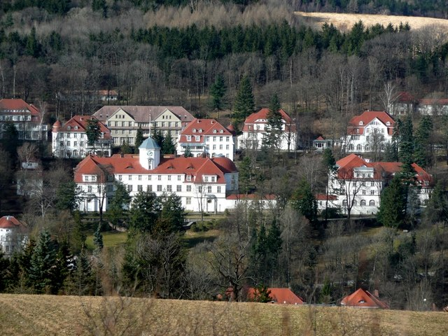Gesundheitspark Bad Gottleuba The sanatorium in Bad