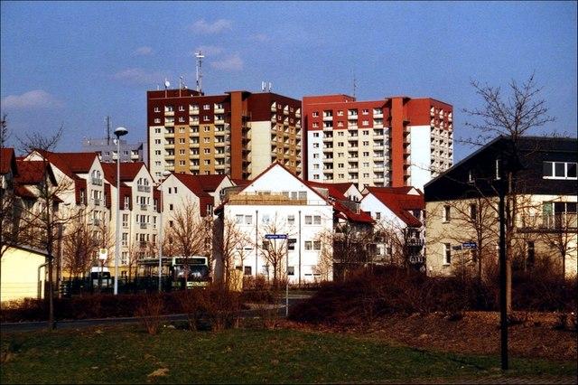 Pirna Wohngebiet Sonnenstein MGRS 33UVS2644  Geograph
