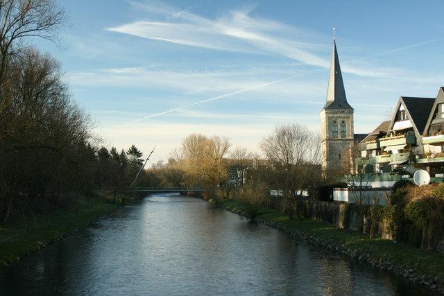 Wupper In Leichlingen:: MGRS 32ULB6063 :: Geograph Deutschland