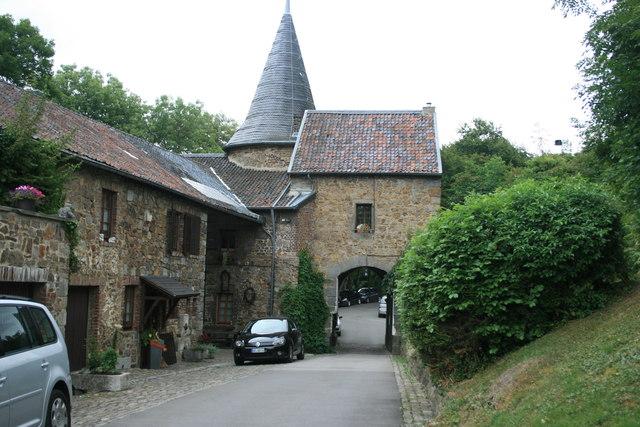 Tor der Burg Wilhelmstein MGRS 32UKB9636  Geograph