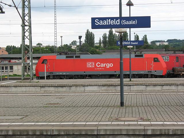 Saalfeld Bahnhof MGRS 32UPB6713  Geograph Deutschland