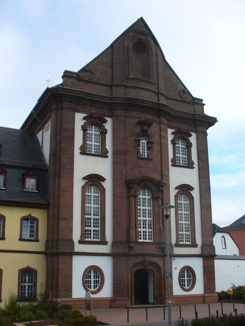 Kirche Helenenberg MGRS 32ULA2325  Geograph Deutschland
