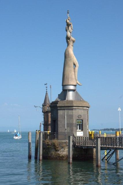 Imperia Statue Konstanz MGRS 32TNT1378  Geograph