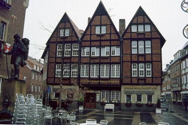 Mnster  Restaurant Kleiner Kiepenkerl MGRS 32UMC0557